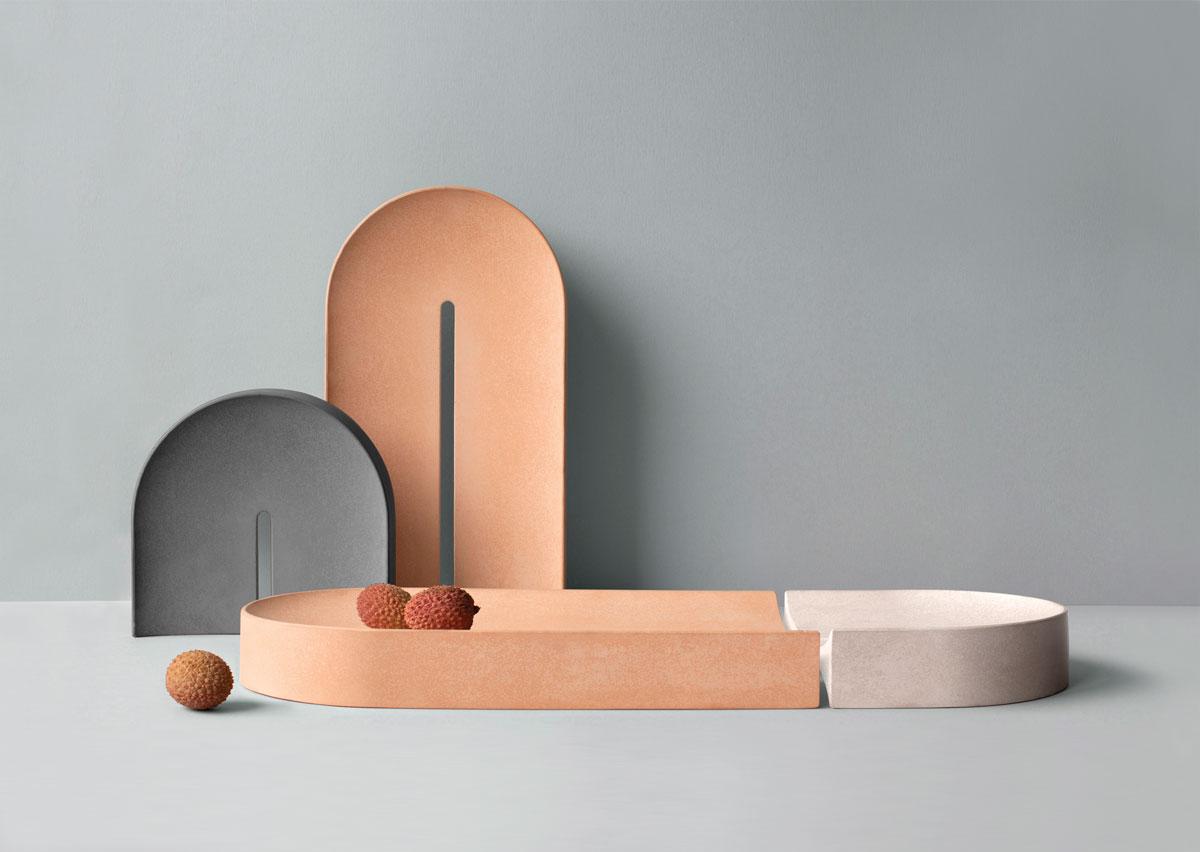 Arc Porcelain Trays Caussa